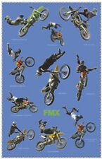 FREESTYLE MOTOCROSS POSTER - 24x36 SHRINK WRAPPED BIKES STUNTS FMX 1358