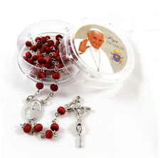 Miraculous Pope Francis Blessed Rosary ✝with Pope Francis Prayer Card✝Miracle P