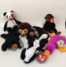 Ty Beanie Babies Mixed Lot New With Tags 7 Total