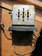 Vintage Flip Toaster REVERSO working with cord the k-m company 500 watts