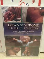 Down Syndrome: The First 18 Months DVD Video Parenting Special Children/Mfg.Seal