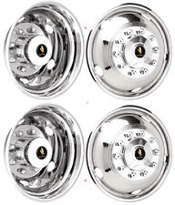 "19.5"" GMC TOPKICK C5500 7.5"" 10 LUG WHEEL SIMULATOR WHEEL LINER COVER HUBCAPS ©"
