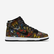 Nike SB X Concept Dunk High Premium Stained Glass Men's Size 10.5 - 313171-606