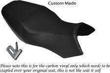 CARBON FIBRE VINYL CUSTOM FITS BUELL ULYSSES XB12X 1200 DUAL SEAT COVER