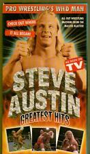 VHS WRESTLING TAPE STEVE AUSTIN GREATEST HITS WERE IT ALL BEGAN EARLY DAYS