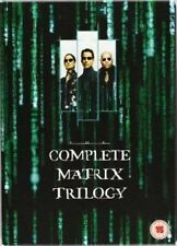 MATRIX Trilogy Complete DVD Movie Collection Part 1 2 3 Reloaded Revolutions