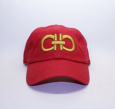Ferragamo Designer Belt inspired Dad Cap Red Hat OG Custom 90s