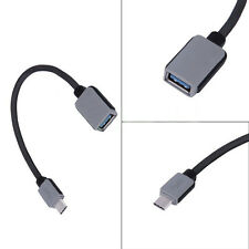 Micro USB 3.0 A Female to B Type-c Male Converter OTG Adapter Cable For Samsung