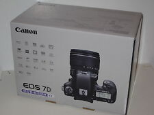 New Canon EOS 7D Camera Body with Canon warranty and 8GB Card plus Extra Battery