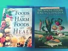 Lot of 2 Books: Foods That Harm Foods That Heal / The Whole Foods Encyclopedia