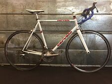 Cervelo Prodigy Large 57.5cm TT Steel Road Bike w/ Dura Ace 7800 White DT Swiss