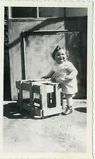 PHOTO ANCIENNE - VINTAGE SNAPSHOT - ENFANT COIFFURE MODE DRÔLE - CHILD FASHION