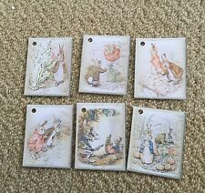 Peter Rabbit Gift Tags Baby Shower Party Decoration Pack Of 6