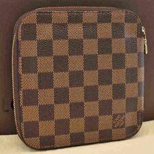 Authentic Louis Vuitton Damier Olaf Organizer Card Case Wallet N61723 #S2331