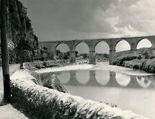 VOGUE c. 1950 - Pont et Route Ardèche - DIV 3365