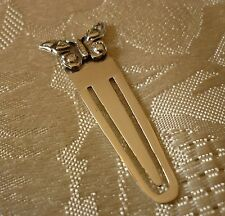 Solid sterling silver book mark / page marker - BUTTERFLY