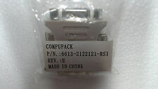 NEW - Compupack - DVI to VGA Converter / Adapter 6613-2122121-RS1