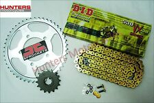 Suzuki GSF1200 Bandit 1995 to 2005 DID Gold X-Ring Chain & JT Sprockets Kit Set