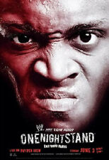 ECW 2007 ONE NIGHT STAND PPV POSTER FREE SHIPPING! ROLLED NEVER FOLDED WWE WCW