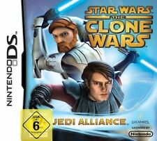 Nintendo DS NDS DSI lite Star Wars The Clone Wars Jedi Allianz NEU