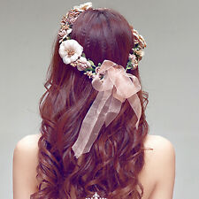 New Floral Flower Party Wedding Crown Hair Wreaths Headband Hair Band Garland CC