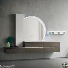 JACANA JA23 – Mobile luxury arredo bagno L.256+95 cm personalizzabile COMPAB