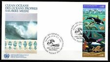 United Nations / Geneva office - 1992 Clean oceans Mi. 213-14 FDC
