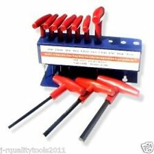 20pc SAE & METRIC T-HANDLE HEX KEY TOOL ALLEN