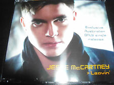 Jesse McCartney Leavin Rare Australian CD Single With Remixes (Bimbo Jones)