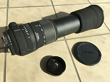 SIGMA APO DG LENS 170-500 mm f/5-6.3 FOR NIKON AF-D NEVER USED