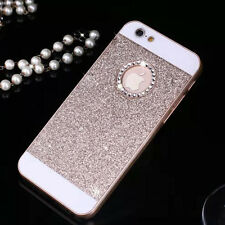 NEW Bling Glitter Crystal Hard Back Phone Case Cover For iPhone 4s 5s 6+Plus SE