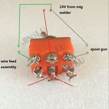 Switch 1PK for MIG Spool Gun Wire Feed Aluminum Steel Welding Torch