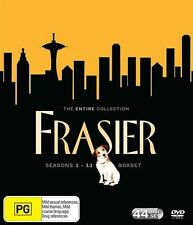 "FRASIER - THE COMPLETE SERIES SEASONS 1-11 DVD BOX SET Region 4/Aus ""Clearance"""