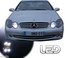 MERCEDES W203 2 Ampoules LED Blanc Veilleuses Feux positions 180 200 220 240 270