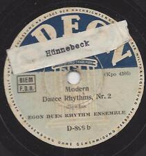 Egon Dues Rythm Ensemble : Moder dance Rhytms Nr. 1+2