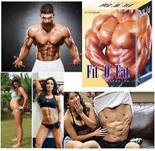 Fit O Fat 100% Fast Weight Gain Pills Muscle Gainer Supplement - Men/Women