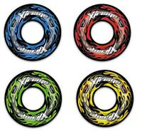 """36"""" XTREME SWIM RING INFLATABLE TYRE TUBE POOL WITH HANDLES CHOICE COLOURS"""