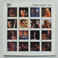 33 TOURS - DISQUE CATALOGUE - JAZZ - RCA MASTERS PL 42026 *