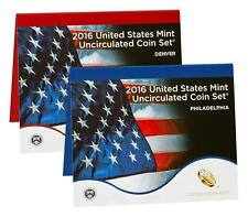 2016 US Mint Uncirculated Coin Set Sealed in original mint box!