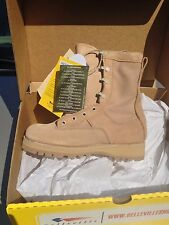 BELLEVILLE US Military Desert Tan GORE-Tex TEMPERATE Weather Boots Size 7 Wide