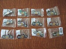 Complete Set Of 12 Hard Rock 2006 Bike - Motorcycle Series Pins On Line Store