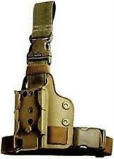 New! Authentic Safariland Single Strap Leg Thigh Shroud FDE Brown 6004-10-55
