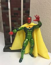 Custom Marvel Legends Vision Yellow Cloth Cape For Figure DC Collectibles Robin