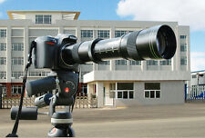 420-800mm f8.3-16 Telephoto zoom lens for Nikon D3200 D90 D60 Canon 5D II 7D 6D
