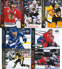 2015 2016 Upper Deck Series One Hockey Complete 200 Card Set Stamkos plus 15 16