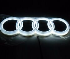 Newest Design LED 4d White logo decoration emblem Light for Audi Q3 Q5 A3 A4 A6