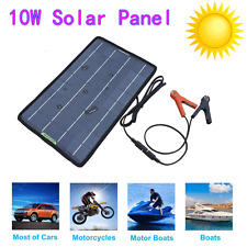 10W PV Solar Panel 10W Solar Module for Car Home Boat Outdoor Battery Charger