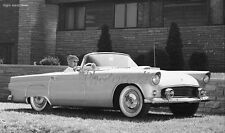 1955 Thunderbird Right hand drive press photo  5 x 7  Photograph