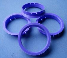 (r10) 4x anillas de centrado 64,0/60,1 mm lila para alloytec asa ICW Rh Artec Smoor