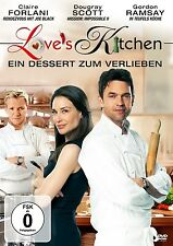 LOVE'S KITCHEN   DVD NEU CLAIRE FORLANI/GORDON RAMSAY/DOUGRAY SCOTT/+